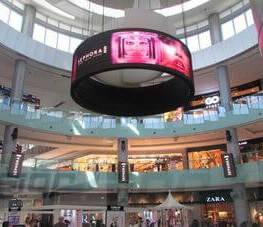 round-led-display