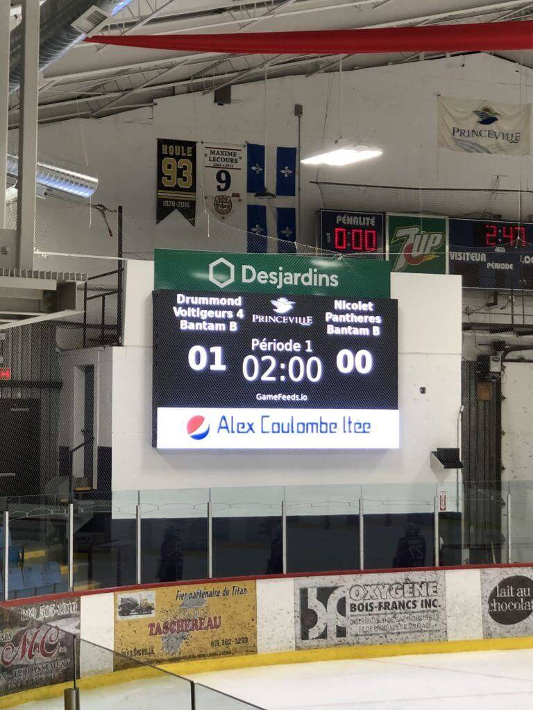 LED digital score board