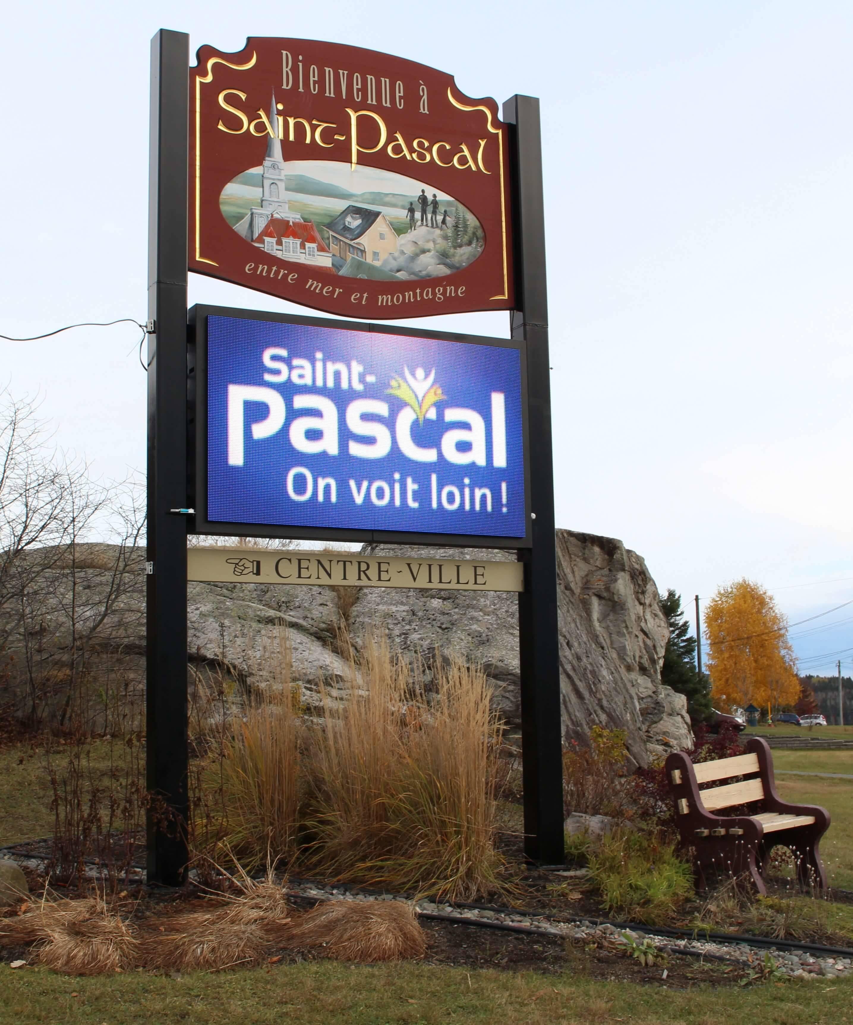 ville_qc_saint-pascal_écran_numérique_libertevision_digital_sign