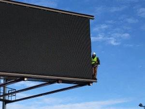Large digital Billboard in Alberta